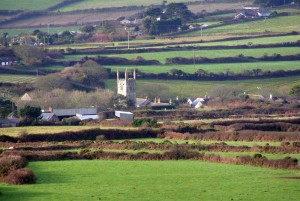 Germoe from Tregonning Hill